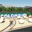 A Colombian Beach on the Banks of the Seine