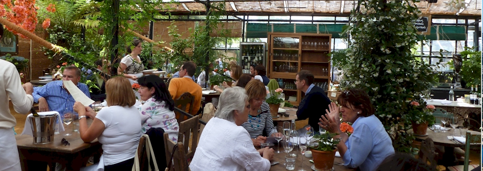 For Foodies and Gardener's: Petersham Nurseries Café